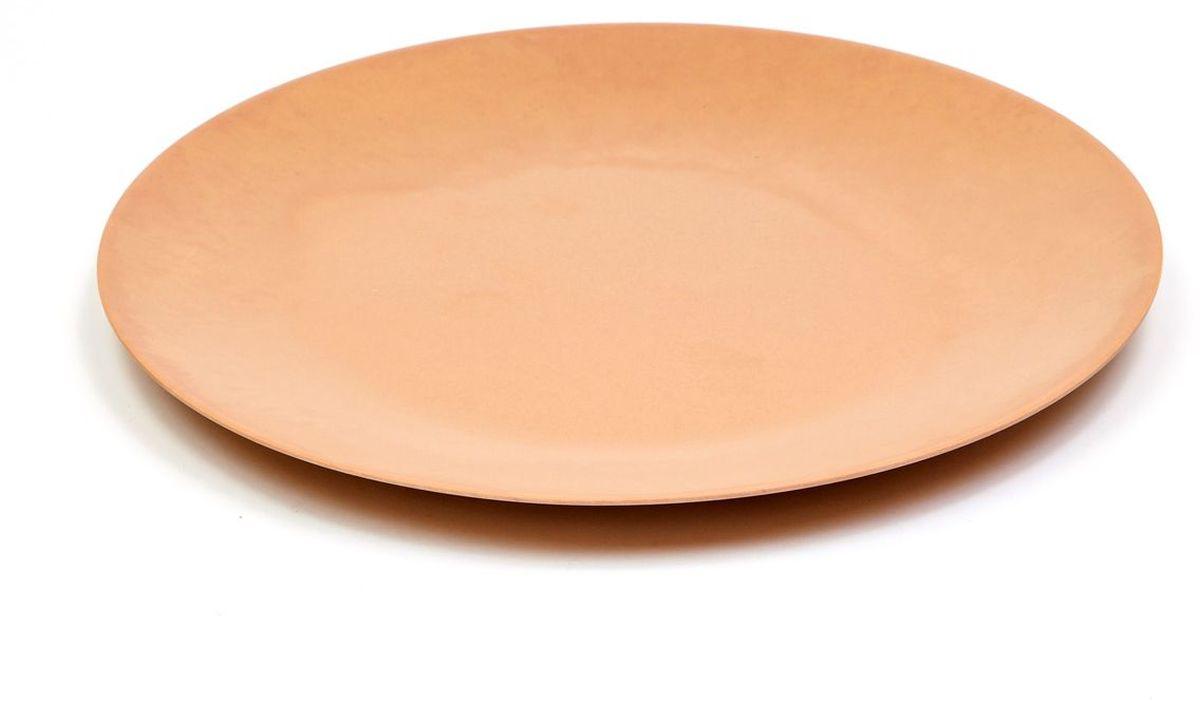 Блюдо MoulinVilla, цвет: коричневый, диаметр 26 см115510Блюдо круглое MOULINvilla изготовлено из природного бамбука, очищенного от вредных примесей. Для окраски используются натуральные пищевые красители. Бамбук, сам по себе, является природным антисептиком. Эта уникальная особенность посуды гарантирует безопасность при эксплуатации и хранении различных видов пищевой продукции. Можно мыть в посудомоечной машине. Не использовать в СВЧ-печах.Можно использовать для горячих и холодных продуктов (диапазон температур: от -20°С до 120°С.