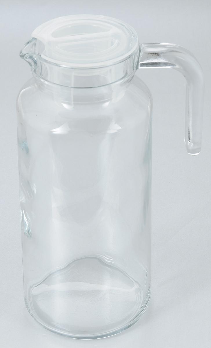 Кувшин Pasabahce Basic, с крышкой, 1,3 л4630003364517Кувшин Pasabahce Basic, выполненный из прочного стекла, элегантно украсит ваш стол. Он прекрасно подойдет для подачи воды, сока, компота и других напитков. Изделие оснащено ручкой, пластиковой крышкой и специальным носиком для удобного выливания жидкости. Совершенные формы и изящный дизайн, несомненно, придутся по душе любителям классического стиля. Кувшин Pasabahce Basic дополнит интерьер вашей кухни и станет замечательным подарком к любому празднику.Высота кувшина: 24 см.