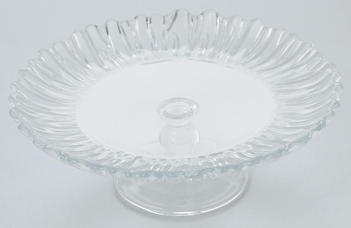 Блюдо на ножке Pasabahce Аврора, диаметр 20,5 смVT-1520(SR)Блюдо на ножке Pasabahce Аврора, выполненное из высококачественного стекла, оригинально украсит праздничный стол и поможет красиво расположить торт или пирог. Блюдо с рифлеными краями установлено на изящную ножку. Функциональность и эстетичность блюда Pasabahce Аврора порадует любую хозяйку.Диаметр блюда: 20,5 см.Высота блюда: 6,75 см.