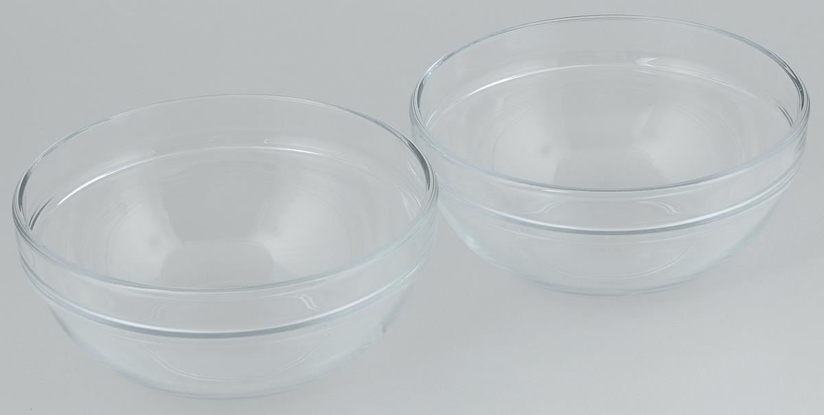 Набор салатников Pasabahce Chefs, диаметр 17,2 см, 2 шт54 009312Набор Pasabahce Chefs состоит из 2 салатников, выполненных из высококачественного натрий-кальций-силикатного стекла. Такие салатники прекрасно подойдут для сервировки стола и станут достойным оформлением для ваших любимых блюд. Высокое качество и функциональность набора позволят ему стать достойным дополнением к вашему кухонному инвентарю.Диаметр салатника: 17,2 см.Объем салатника: 1 л.