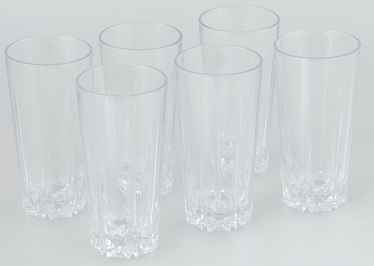 Набор стаканов для коктейлей Pasabahce Karat, 330 мл, 6 шт24686Набор Pasabahce, состоящий из шести стаканов, несомненно, придется вам по душе. Стаканы предназначены для подачи коктейлей, сока, воды и других напитков. Они изготовлены из прочного высококачественного прозрачного стекла и сочетают в себе элегантный дизайн и функциональность. Благодаря такому набору пить напитки будет еще вкуснее.Набор стаканов Pasabahce идеально подойдет для сервировки стола и станет отличным подарком к любому празднику.Высота стакана: 14 см.