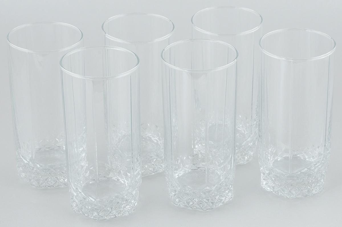 Набор стаканов для пива Pasabahce Valse, 420 мл, 6 штVT-1520(SR)Набор Pasabahce состоит из шести стаканов, выполненных из прочного натрий-кальций-силикатного стекла. Стаканы, оснащенные утолщенным дном, предназначены для подачи пива. Такой набор прекрасно подойдет для любителей пенного напитка.Высота стакана: 15 см.