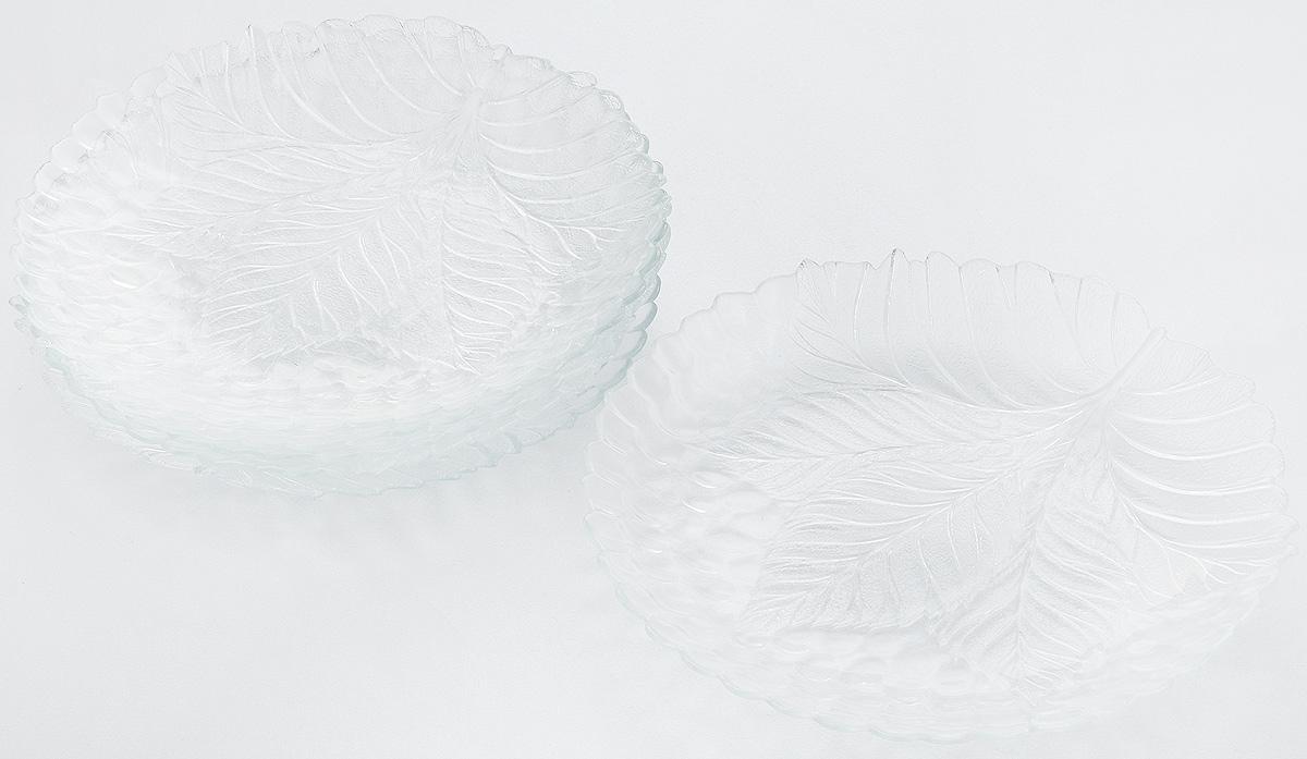 Набор тарелок Pasabahce Sultana, диаметр 24 см, 6 шт54 009312Набор Pasabahce Sultana состоит из 6 тарелок, выполненных из высококачественного натрий-кальций-силикатного стекла. Изделия предназначены для красивой сервировки различных блюд. Набор сочетает в себе изысканный дизайн с максимальной функциональностью.