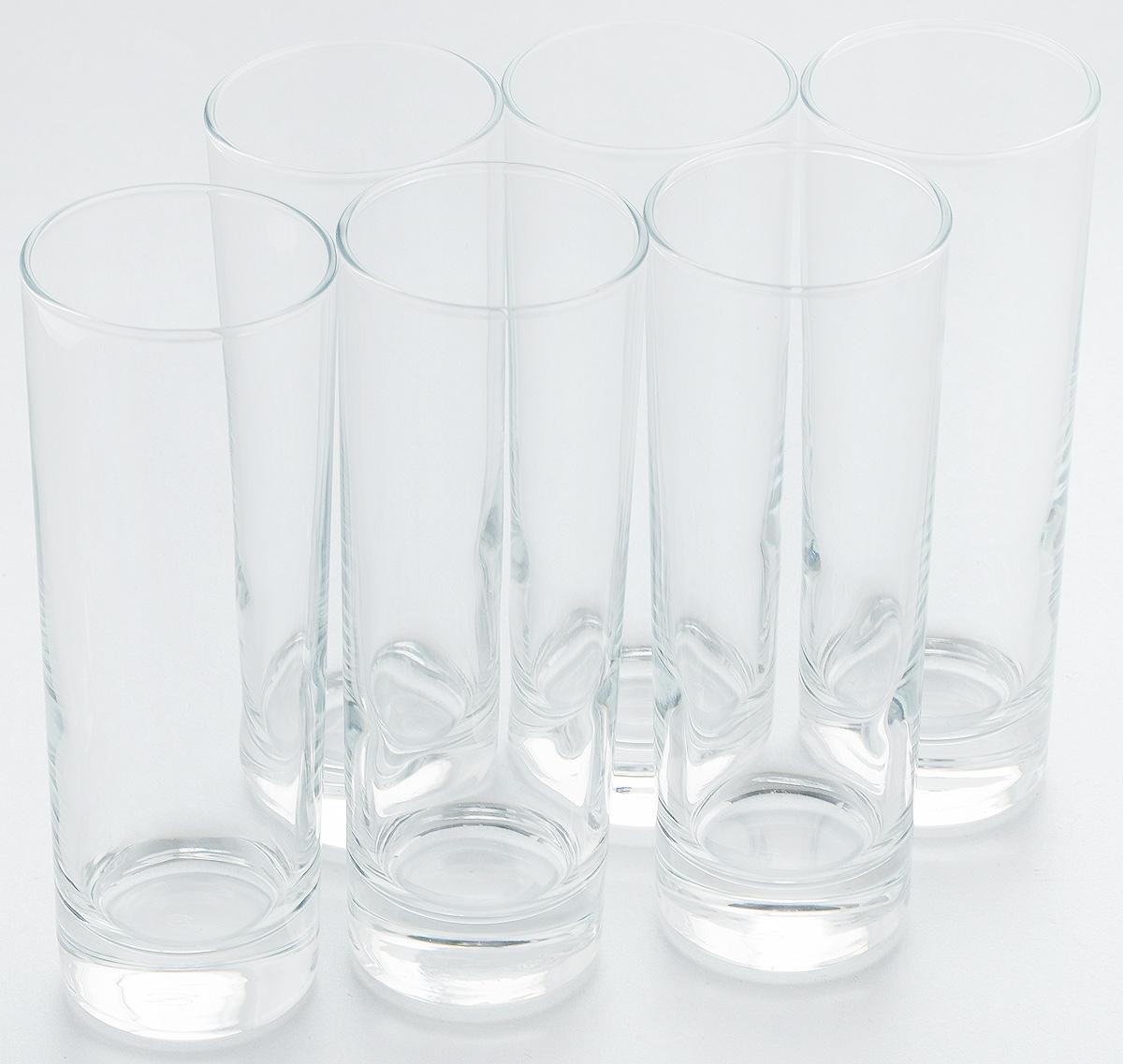 Набор стаканов Pasabahce Side, 290 мл, 6 шт. 42469B050101096Набор Pasabahce состоит из шести стаканов, выполненных из натрий-кальций-силикатного стекла. Изделия предназначены для подачи сока, воды, компота и другихнапитков. Такие стаканы станут идеальным украшением праздничного стола и отличным подарком к любомупразднику.Высота стакана: 17 см.