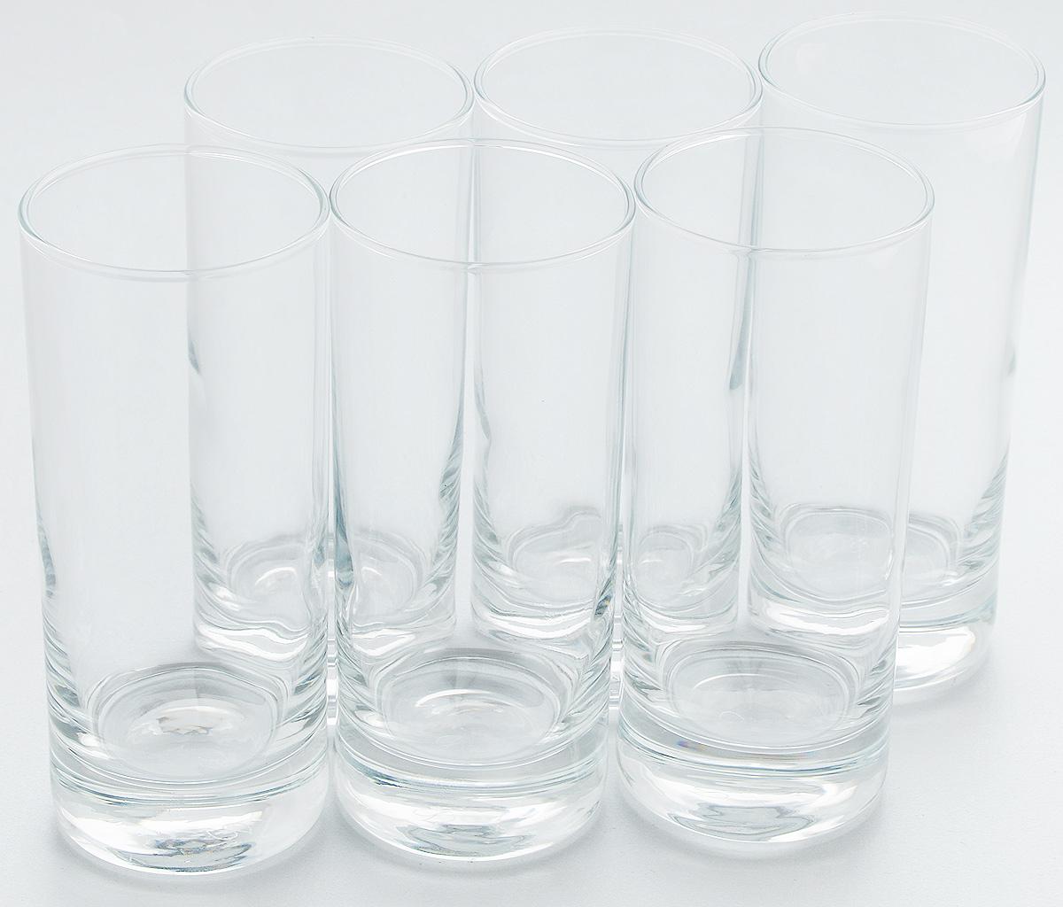 Набор стаканов Pasabahce Side, 290 мл, 6 шт. 42439BVT-1520(SR)Набор Pasabahce состоит из шести стаканов, выполненных из натрий-кальций-силикатного стекла. Изделия предназначены для подачи сока, воды, компота и другихнапитков. Такие стаканы станут идеальным украшением праздничного стола и отличным подарком к любомупразднику.Высота стакана: 15 см.