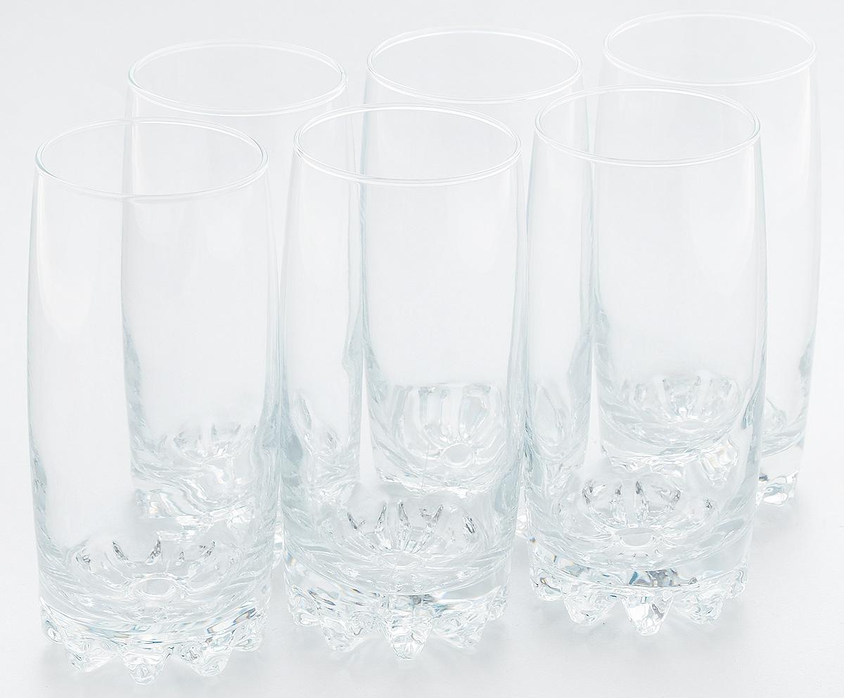 Набор стаканов Pasabahce Sylvana, 385 мл, 6 штVT-1520(SR)Набор Pasabahce состоит из шести стаканов, выполненных из натрий-кальций-силикатного стекла. Изделия предназначены для подачи сока, воды, компота и другихнапитков. Такие стаканы станут идеальным украшением праздничного стола и отличным подарком к любомупразднику.Диаметр стакана: 6 см.Высота стакана: 14,5 см.