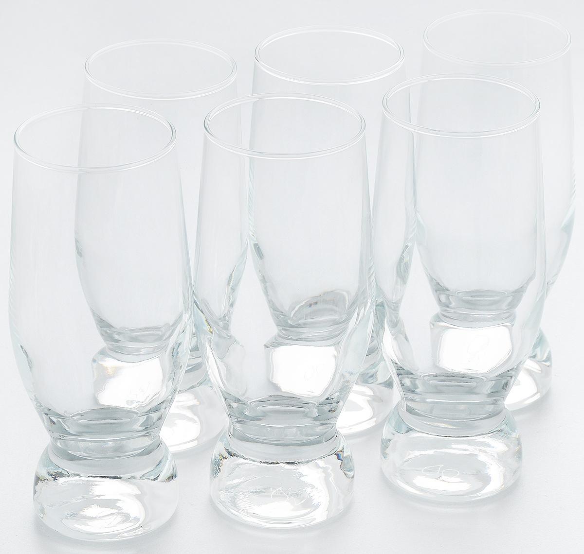 Набор стаканов для коктейлей Pasabahce Aquatic, 265 мл, 6 шт42414BНабор Pasabahce, состоящий из шести стаканов, несомненно, придется вам по душе. Стаканы предназначены для подачи коктейлей, сока, воды и других напитков. Они изготовлены из прочного высококачественного прозрачного стекла и сочетают в себе элегантный дизайн и функциональность. Благодаря такому набору пить напитки будет еще вкуснее.Набор стаканов Pasabahce идеально подойдет для сервировки стола и станет отличным подарком к любому празднику.Высота стакана: 15 см.