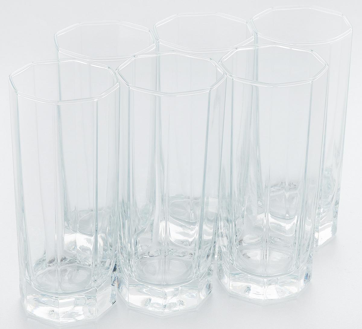 Набор стаканов для коктейлей Pasabahce Kosem, 264 мл, 6 штVT-1520(SR)Набор Pasabahce, состоящий из шести стаканов, несомненно, придется вам по душе. Стаканы предназначены для подачи коктейлей, сока, воды и других напитков. Они изготовлены из прочного высококачественного прозрачного стекла и сочетают в себе элегантный дизайн и функциональность. Благодаря такому набору пить напитки будет еще вкуснее.Набор стаканов Pasabahce идеально подойдет для сервировки стола и станет отличным подарком к любому празднику.Высота стакана: 14 см.