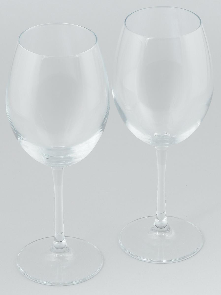 Набор бокалов для вина Pasabahce Enoteca, 615 мл, 2 штVT-1520(SR)Набор Pasabahce Enoteca состоит из двух бокалов, выполненных из прочного натрий-кальций-силикатного стекла. Изделия оснащены высокими ножками и предназначены для подачи вина. Они сочетают в себе элегантный дизайн и функциональность. Набор бокалов Pasabahce Enoteca прекрасно оформит праздничный стол и создаст приятную атмосферу за романтическим ужином. Такой набор также станет хорошим подарком к любому случаю.