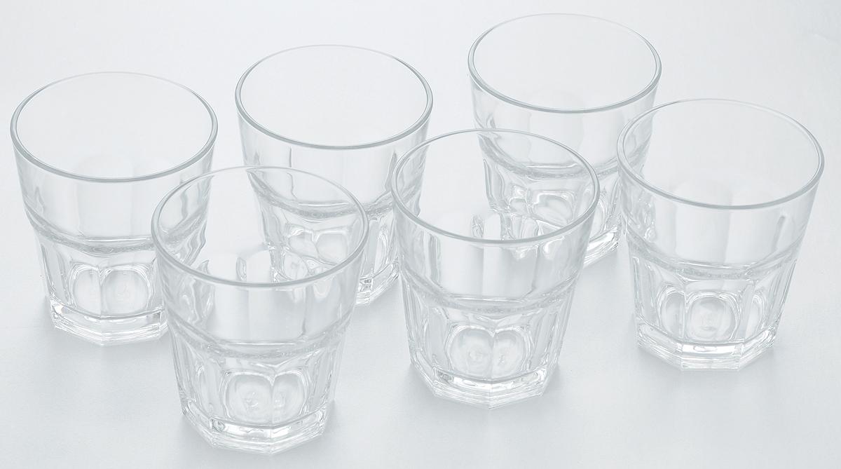 Набор стаканов Pasabahce Casablanca, 355 мл, 6 шт52704T/Набор Pasabahce Casablanca состоит из шести стаканов, выполненных из высококачественного стекла. Изделия оснащены многогранной рельефной поверхностью. Такие стаканы подойдут для подачи виски, сока и других напитков со льдом. Стаканы сочетают в себе элегантный дизайн и функциональность.Набор стаканов Pasabahce Casablanca идеально подойдет для сервировки стола и станет отличным подарком к любому празднику.