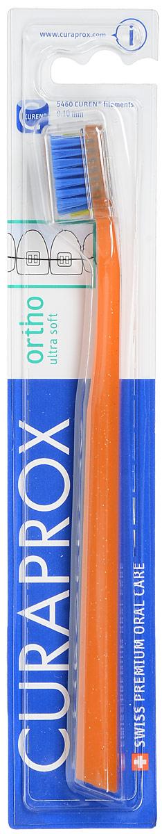 Curaprox CS 5460 ortho Ортодонтическая щетка с углублением, цвет: оранжевыйSatin Hair 7 BR730MNЩетка, со специальным углублением на поверхности, предназначена для ежедневного очищения зубов при наличии брекет-системы. Щетка содержит 5460 мягких активных щетинок (диаметр 0,10 мм) и обеспечивает качественное и нетравматичное удаление зубного налета.
