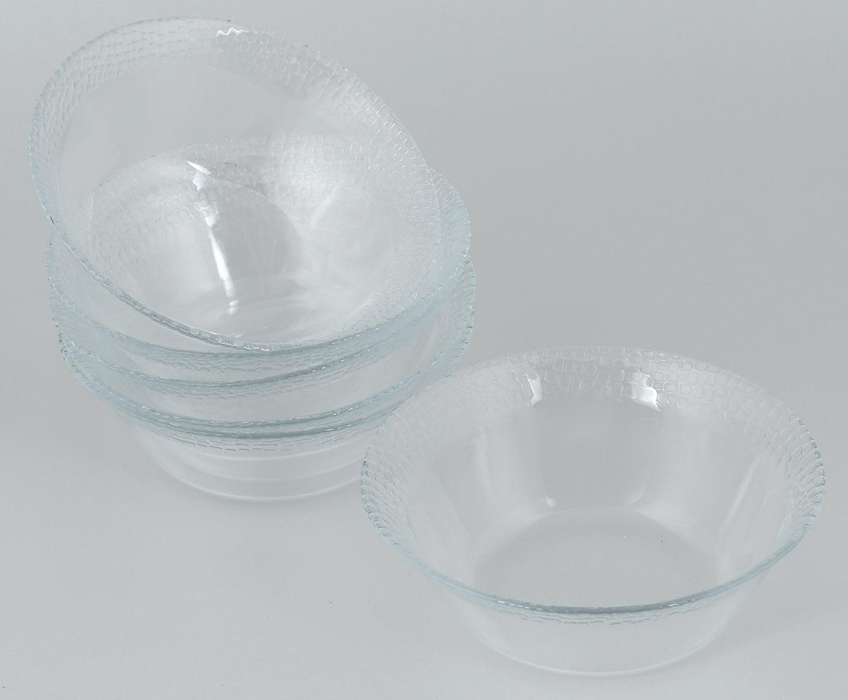 Набор салатников Pasabahce Mosaic, диаметр 16 см, 6 шт391602Набор Pasabahce Mosaic состоит из 6 салатников, выполненных из высококачественного натрий-кальций-силикатного стекла. Такие салатники прекрасно подойдут для сервировки стола и станут достойным оформлением для ваших любимых блюд. Высокое качество и функциональность набора позволят ему стать достойным дополнением к вашему кухонному инвентарю.Диаметр салатника: 16 см.