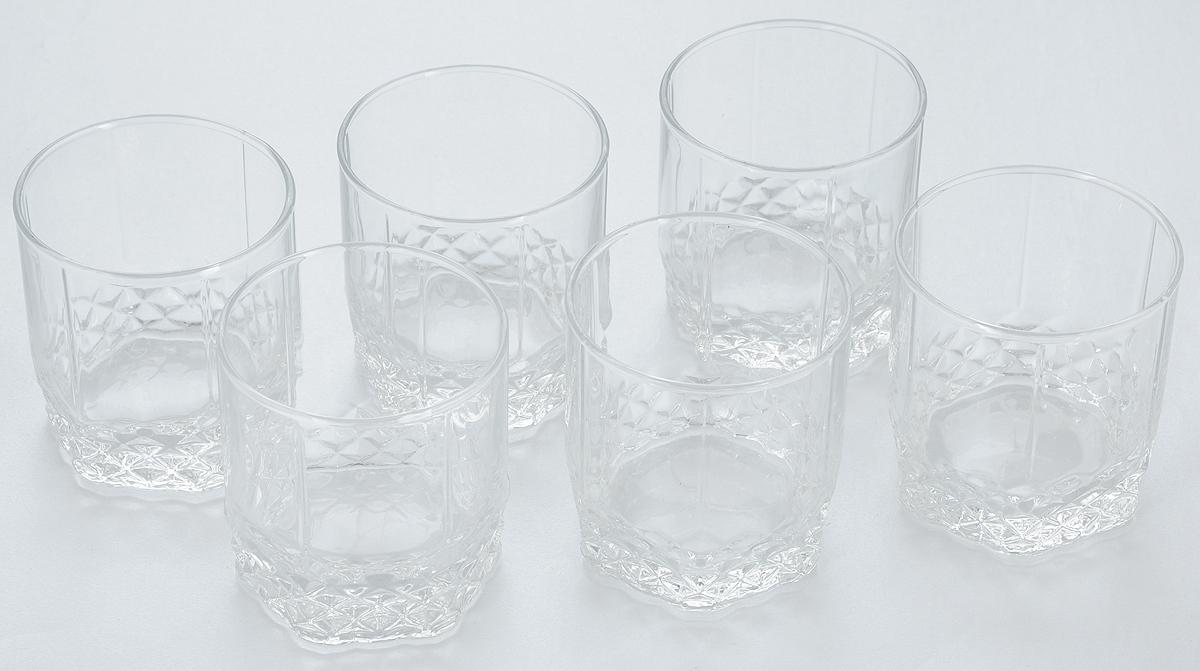 Набор стаканов для сока Pasabahce Valse, 250 мл, 6 штVT-1520(SR)Набор Pasabahce состоит из шести стаканов, выполненных из закаленного натрий-кальций-силикатного стекла. Низкие стаканы с утолщенным дном предназначены для подачи сока, компота и других напитков. Стаканы сочетают в себе элегантный дизайн и функциональность. Благодаря такому набору пить напитки будет еще вкуснее.Набор стаканов Pasabahce идеально подойдет для сервировки стола и станет отличным подарком к любому празднику. Высота стакана: 8,5 см.