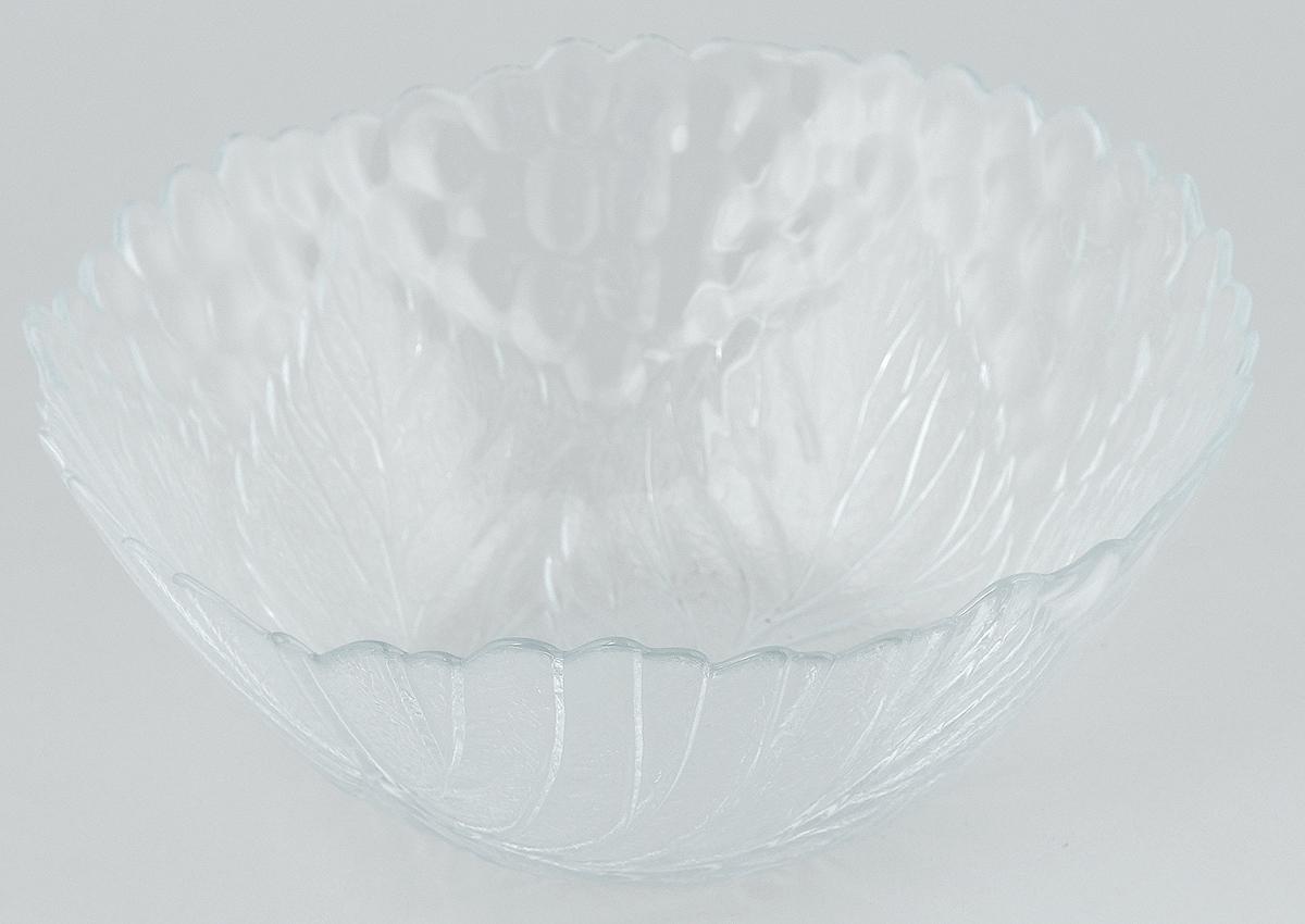 Салатник Pasabahce Sultana, диаметр 23 см. 10284B10284BСалатник Pasabahce Sultana, выполненный из прозрачного высококачественного натрий-кальций-силикатного стекла, предназначен для красивой сервировки различных блюд. Салатник сочетает в себе лаконичный дизайн с максимальной функциональностью. Оригинальность оформления придется по вкусу и ценителям классики, и тем, кто предпочитает утонченность и изящность.