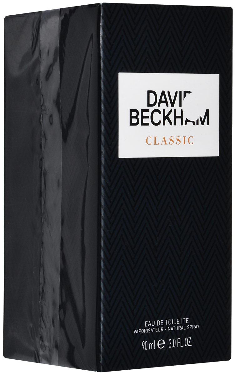 David Beckham Classic Туалетная вода мужская 90 мл28032022David Beckham Classic (Дэвид Бекхэм. Классика) – новый аромат, выпущенный в 2013 году. Композиция для мужчин принадлежит к семейству древесных фужерных. Стильный и яркий, этот аромат предназначен для молодых активных мужчин, неравнодушных к спорту и хорошо разбирающихся в моде. Этот парфюм хорош как для дневного, так и для вечернего использования. Тонкий и ненавязчивый шлейф будет с вами весь день. Парфюмер: Aurelien Guichard Орельен Гишар – молодой прогрессивный парфюмер из Грасса, ученик парфюмерной школы Givaudan, на данный момент – один из ведущих сотрудников компании Givaudan. Его отец – знаменитый Жан Гишар, директор школы Givaudan, обладатель приза Франсуа Коти в 2000 году, создатель ароматов Cacharel LouLou и Calvin Klein Obsession. Дедушка и бабушка Орельена также были задействованы в парфюмерной промышленности – они производили розы и жасмин для извлечения масляных эссенций для создания духов. Неудивительно, что, имея подобных предков, столь преданных своей профессииВерхняя нота: Лайм, гальбанум, джин.Средняя нота: Мята, мускатный орех, кипарис.Шлейф: амбра, кедр и ветивер.Сочетание нот гальбанума и джина, лайма и мускатного ореха в окружении мяты, амбры, кедра и ветивера, кипариса и молекулы ambermax.Дневной и вечерний аромат.
