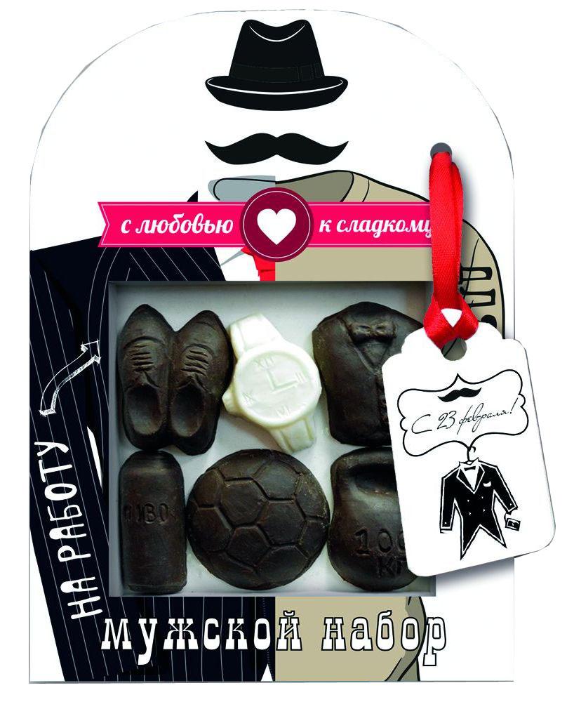Русский марципан Хороший вечер шоколадный набор, 55 г0120710Сладкий шоколадный набор будет прекрасным подарком.