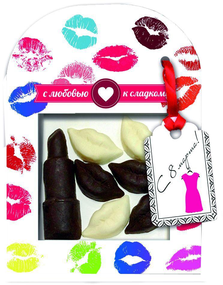 Русский марципан Весеннее настроение, сувенир из шоколадной глазури, 46 г0120710Сладкий шоколадный набор будет прекрасным подарком.