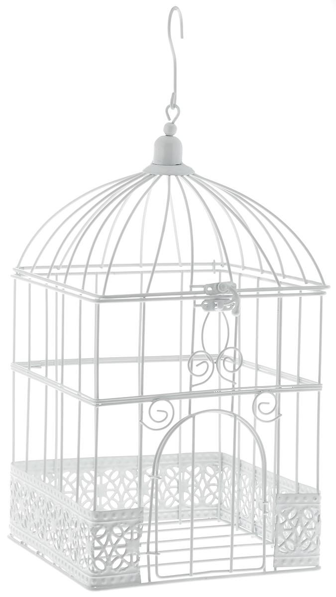Клетка декоративная Magic Home  Ажурная , 17 х 17 х 32 см - Украшения