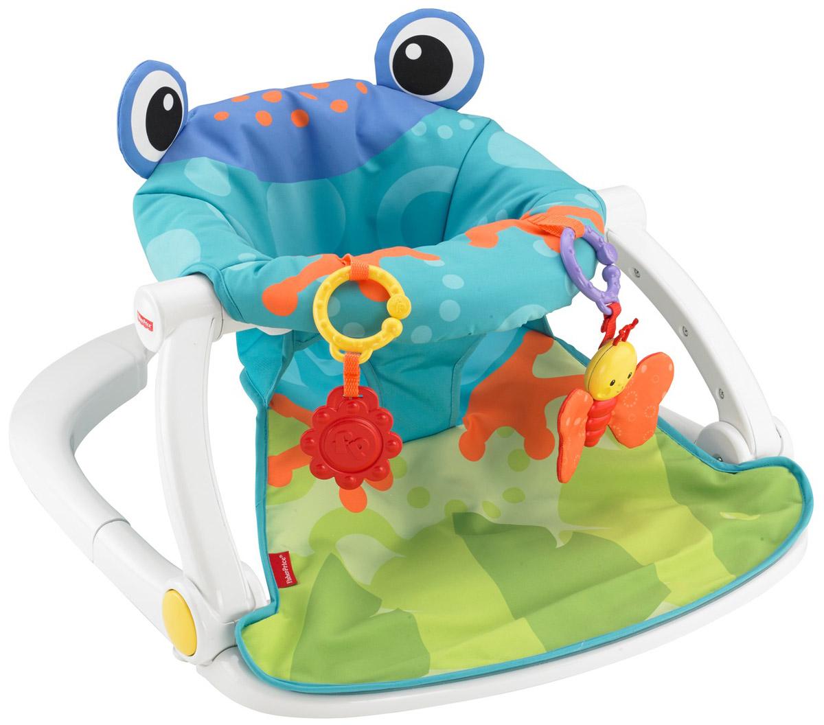 Fisher-Price Кресло-сидение напольное Лягушонок