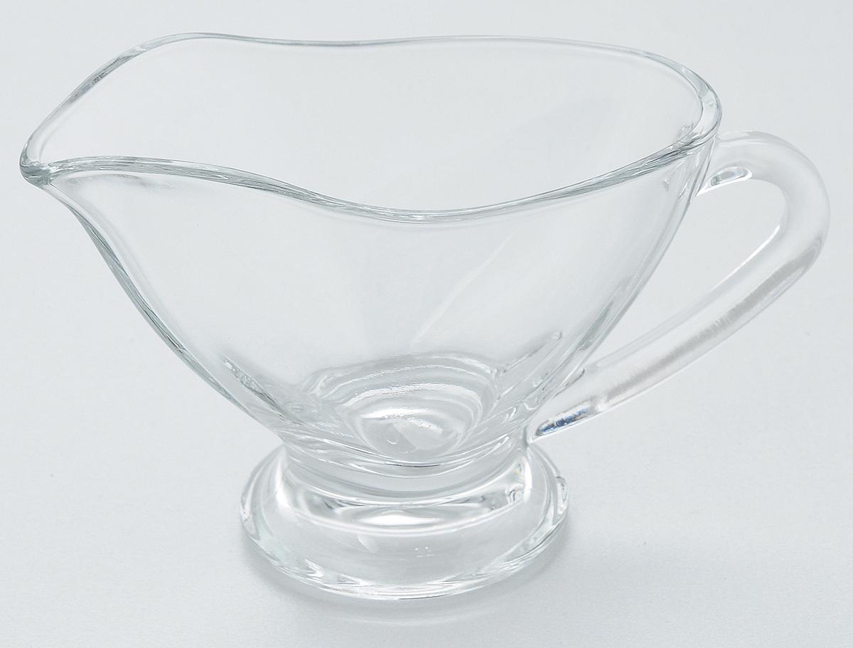 Соусник Pasabahce Basic, 170 мл. 55012/VT-1520(SR)Соусник Pasabahce Basic изготовлен из прочного натрий-кальций-силикатного стекла. Благодаря этому соуснику вы всегда сможете красиво и эстетично подать соус к столу.Изделие придется по вкусу и ценителям классики, и тем, кто предпочитает утонченность и изящность.
