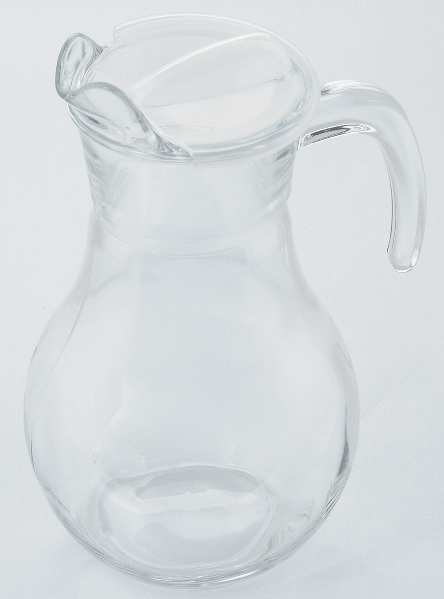Кувшин Pasabahce Bistro, с крышкой, 1,8 л646628.17Кувшин Pasabahce Bistro, выполненный из прочного стекла, элегантно украсит ваш стол. Он прекрасно подойдет для подачи воды, сока, компота и других напитков. Изделие оснащено ручкой, пластиковой крышкой и специальным носиком для удобного выливания жидкости. Совершенные формы и изящный дизайн, несомненно, придутся по душе любителям классического стиля. Кувшин Pasabahce Bistro дополнит интерьер вашей кухни и станет замечательным подарком к любому празднику.Высота кувшина: 26 см.