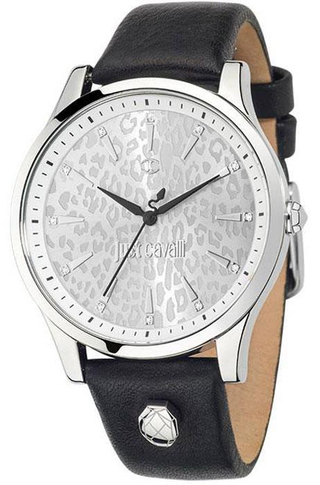 Наручные часы женские Just Cavalli Just linear, цвет: черный. R7251558504BM8434-58AEНаручные часы Just cavalli, корпус и задняя крышка из стали, стразы из стекла