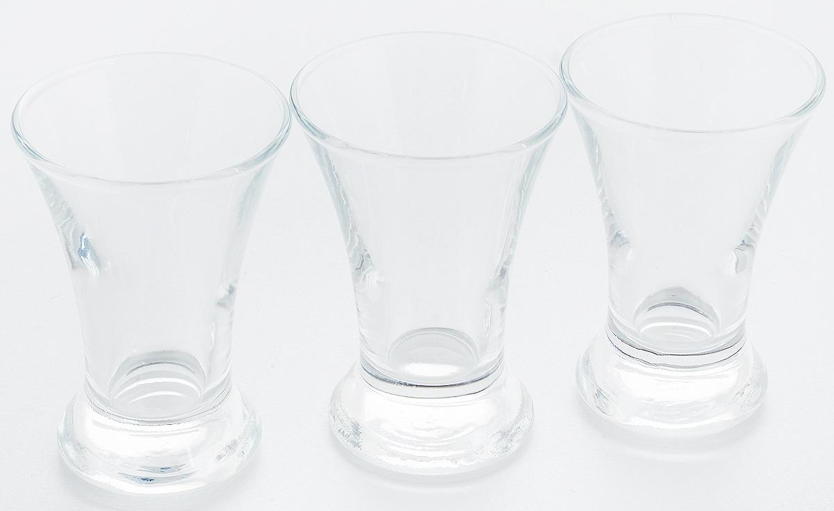 Набор стопок Pasabahce Pub, 50 мл, 3 штFA-5126-2 WhiteНабор Pasabahce Pub состоит из 3 стопок, выполненных из закаленного натрий-кальций-силикатного стекла. Изделия прекрасно подойдут для подачи крепких алкогольных напитков. Набор стопок Pasabahce Pub украсит ваш стол и станет отличным подарком к любому празднику.Высота стопки: 8 см.