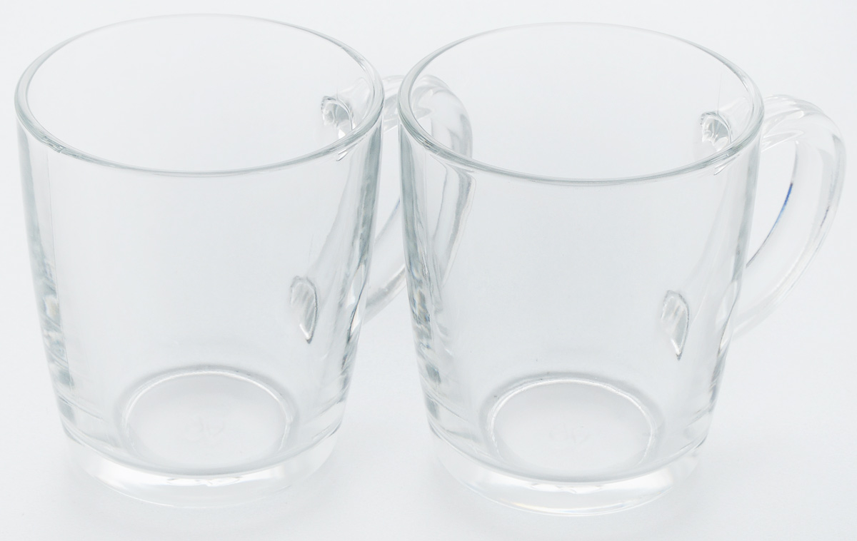 Набор кружек Pasabahce Basic, 340 мл, 2 шт54 009312Набор Pasabahce Basic состоит из двух кружек, выполненных из натрий-кальций-силикатного стекла. Изделия оснащены удобными ручками. Кружки сочетают в себе изысканный дизайн и функциональность. Благодаря такому набору пить напитки будет еще вкуснее.Набор кружек Pasabahce Basic прекрасно оформит праздничный стол и создаст приятную атмосферу за ужином. Такой набор также станет хорошим подарком к любому случаю. Объем кружки: 340 мл.Высота кружки: 10 см.