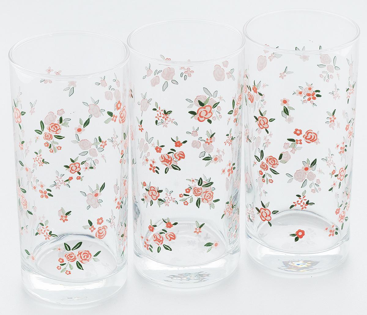 Набор стаканов Pasabahce Provence, 290 мл, 3 штVT-1520(SR)Набор Pasabahce Provence состоит из трех бокалов, выполненных из закаленного натрий-кальций-силикатного стекла. Изделия украшены ярким рисунком и прекрасно подойдут для подачи холодных напитков. Их оценят как любители классики, так и те, кто предпочитает современный дизайн.Набор идеально подойдет для сервировки стола и станет отличным подарком к любому празднику. Высота стакана: 13,5 см.