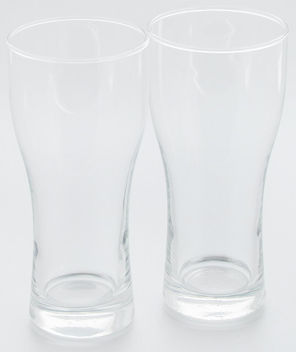 Набор бокалов для пива Pasabahce Pub, 500 мл, 2 штVT-1520(SR)Набор Pasabahce Pub состоит из двух бокалов, выполненных из прочного натрий-кальций-силикатного стекла. Бокалы, оснащенные утолщенным дном, предназначены для подачи пива. Такой набор прекрасно подойдет для любителей пенного напитка.Высота бокала: 19 см.