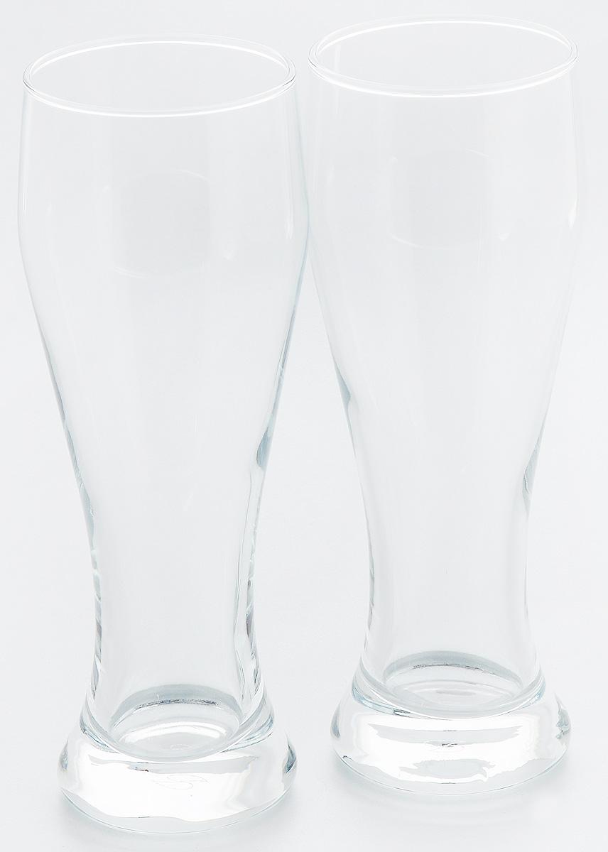 Набор стаканов для пива Pasabahce Pub, 415 мл, 2 шт набор кружек для пива luminarc dresden 500 мл 2 шт