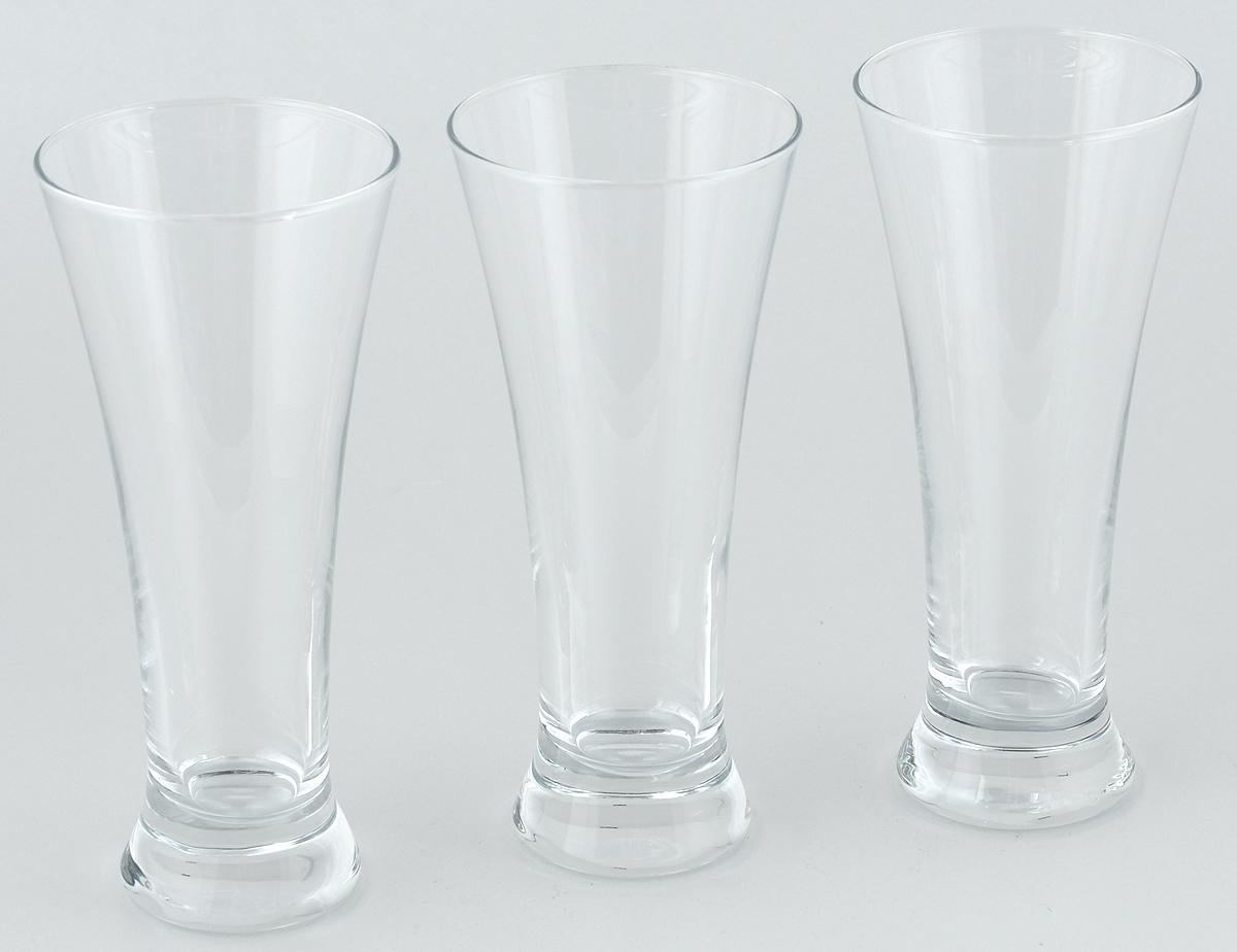 Набор стаканов для пива Pasabahce Pub, 320 мл, 3 штVT-1520(SR)Набор Pasabahce Pub состоит из трех стаканов, выполненных из прочного натрий-кальций-силикатного стекла. Стаканы, оснащенные утолщенным дном, предназначены для подачи пива. Такой набор прекрасно подойдет для любителей пенного напитка.Высота стакана: 18,5 см.Диаметр стакана: 8 см.