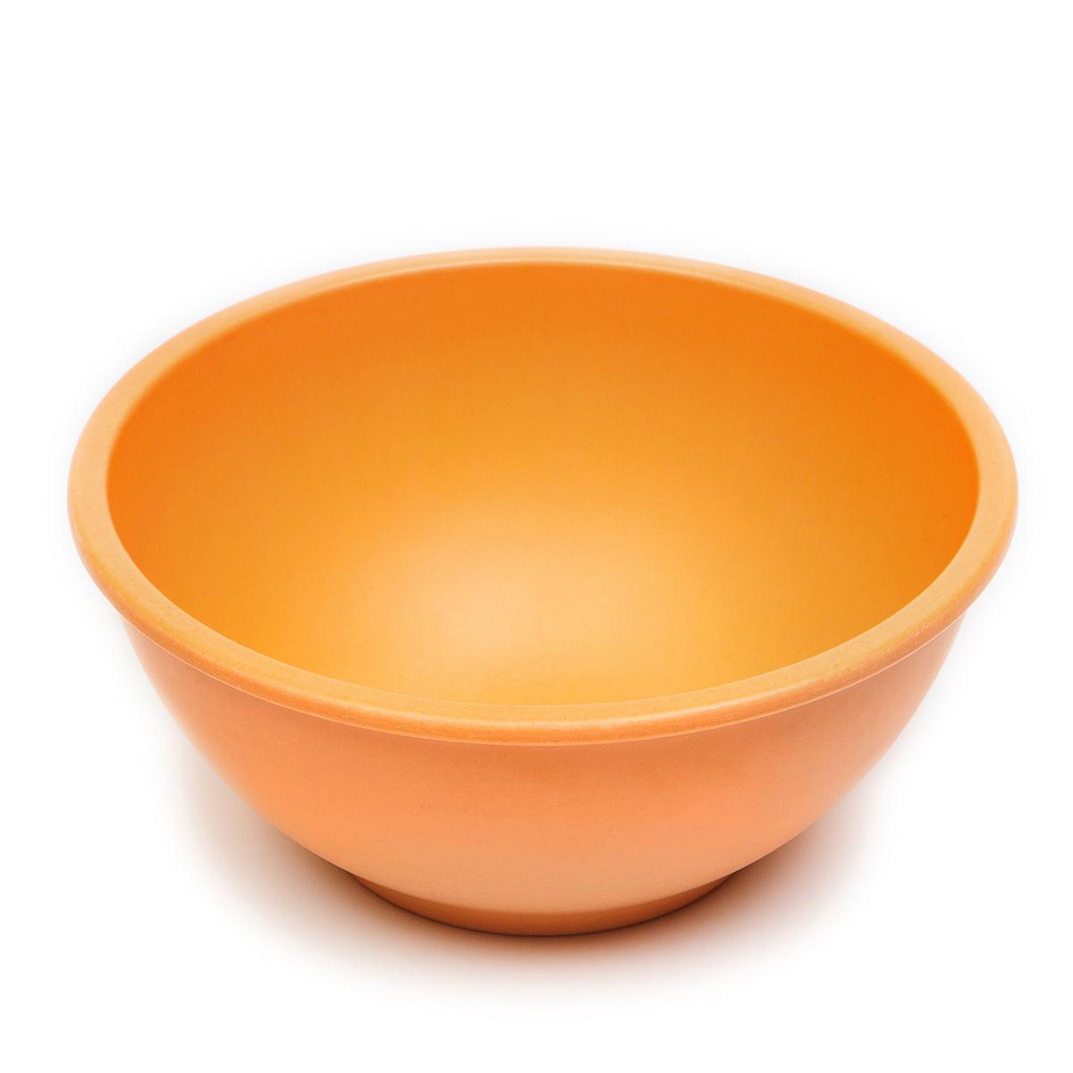 Салатник MoulinVilla, цвет: оранжевый, 15 х 15 х 6 см115510Посуда из инновационного материала компании Moulinvilla. Продукт сделан из экологически чистой бамбуковой фибры. Посуда обладает естественными, антибактериальными свойствами. Диапазон температур: от -20 до +120 С. Можно мыть в посудомоечной машине в щадящем режиме. Посуда из бамбука - это яркий стильный дизайн и высокая функциональность.