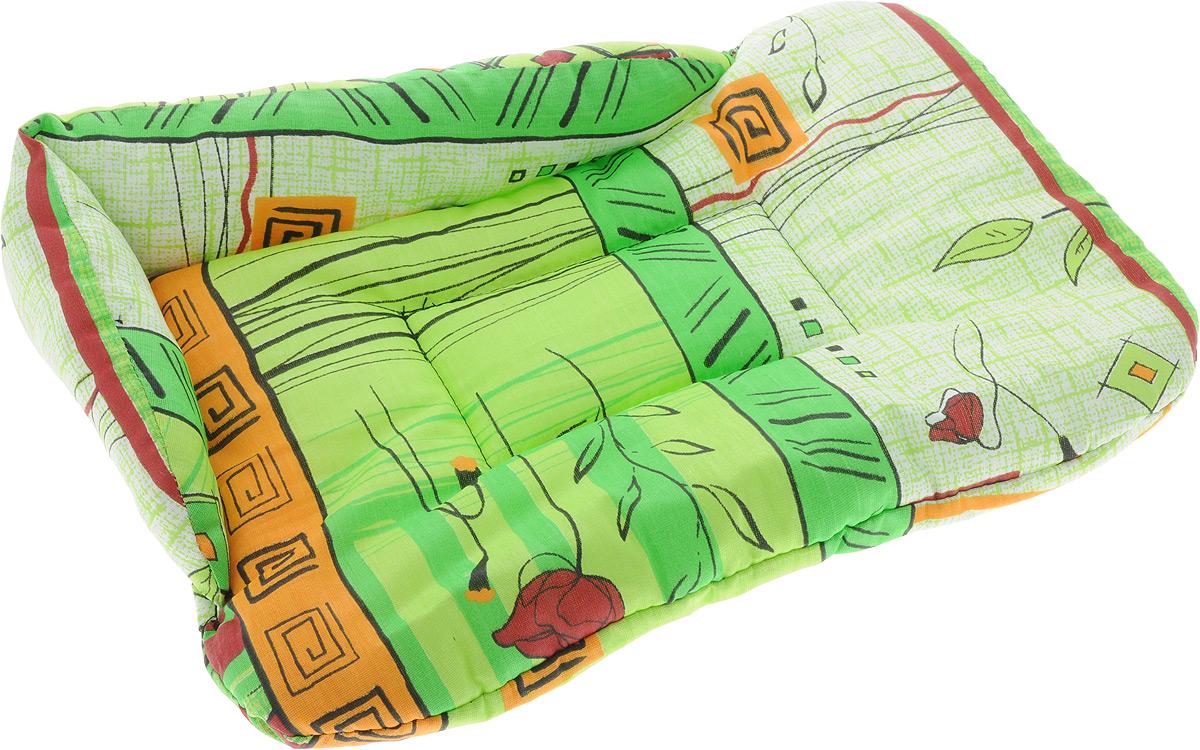Лежак для животных Elite Valley Софа, цвет: салатовый, оранжевый, 46 х 31 х 11 см. Л-5/112171996Лежак для животных Elite Valley Софа изготовлен из высококачественной бязи, наполнитель - холлофайбер. Он станет излюбленным местом вашего питомца, подарит ему спокойный и комфортный сон, а также убережет вашу мебель от многочисленной шерсти. На таком лежаке вашему любимцу будет мягко и тепло.
