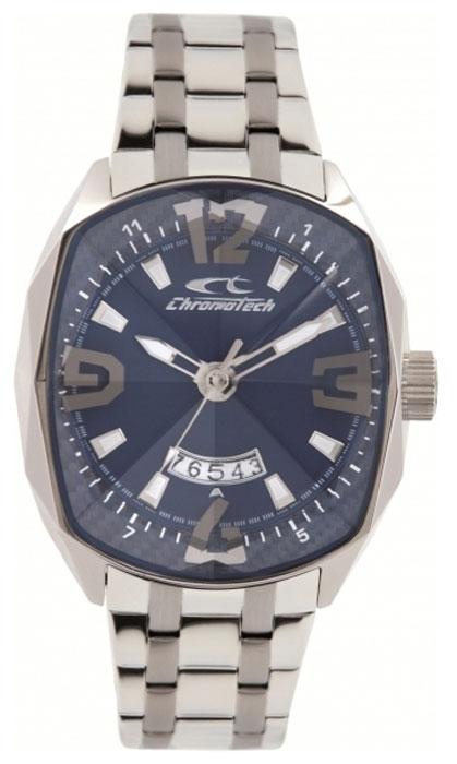 Часы наручные CHRONOTECH RW0050, Мужские, цвет Серый, размер 45х51ммBM8434-58AEЧасы наручные CHRONOTECH RW0050 30м (3 АТМ)