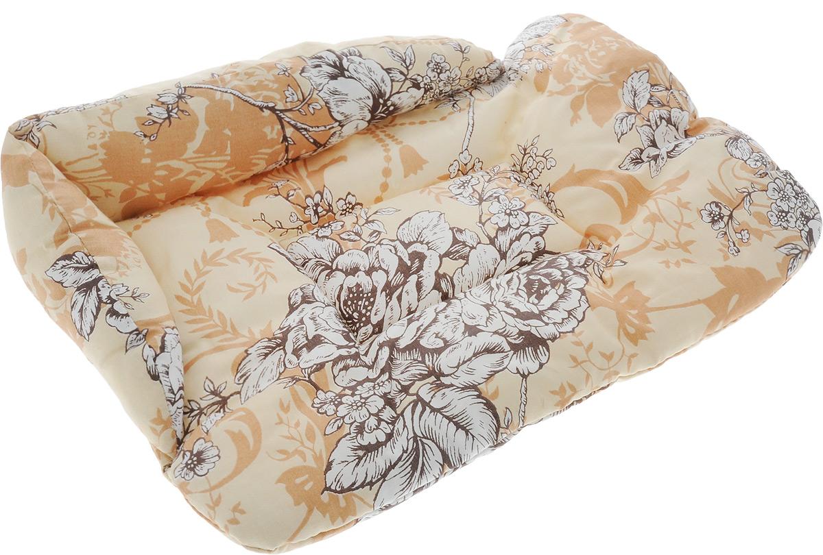 Лежак для животных Elite Valley Софа, цвет: бежевый, белый, 46 х 31 х 11 см. Л-5/1Л-5/1_бежевый, белыйЛежак для животных Elite Valley Софа изготовлен из высококачественной бязи, наполнитель - холлофайбер. Он станет излюбленным местом вашего питомца, подарит ему спокойный и комфортный сон, а также убережет вашу мебель от многочисленной шерсти. На таком лежаке вашему любимцу будет мягко и тепло.