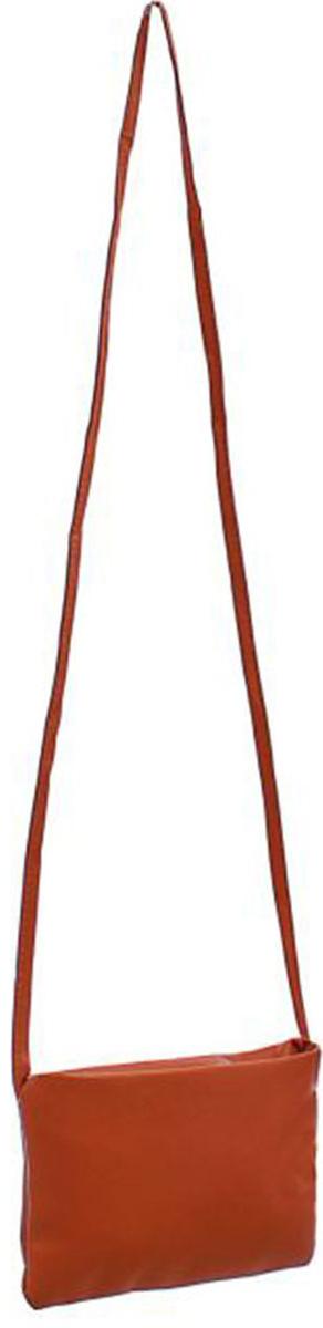 Клатч женский Mitya Veselkov Сара, цвет: коричневый. 1353526L39845800Стильный женский клатч Mitya Veselkov выполнен из искусственной кожи и текстиля. Закрывается клатч на застежку молнию.Модель оснащена съемным плечевым ремнем.