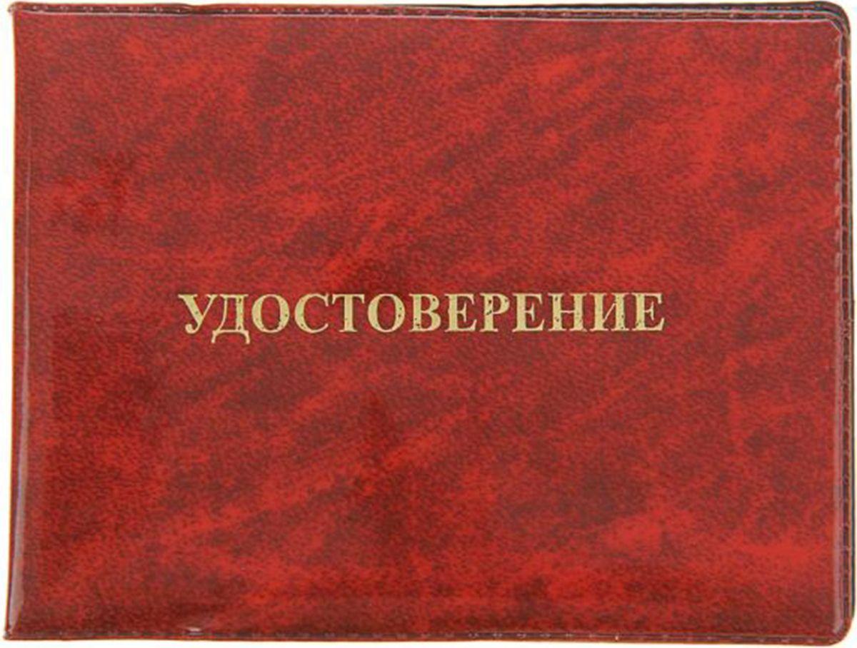 Обложка для удостоверения Mitya Veselkov, цвет: красный. 1267549993224Обложка для удостоверения Mitya Veselkov выполнена из ПВХ. Края дополнены прострочкой. Внутри у модели широкие удобные поля.