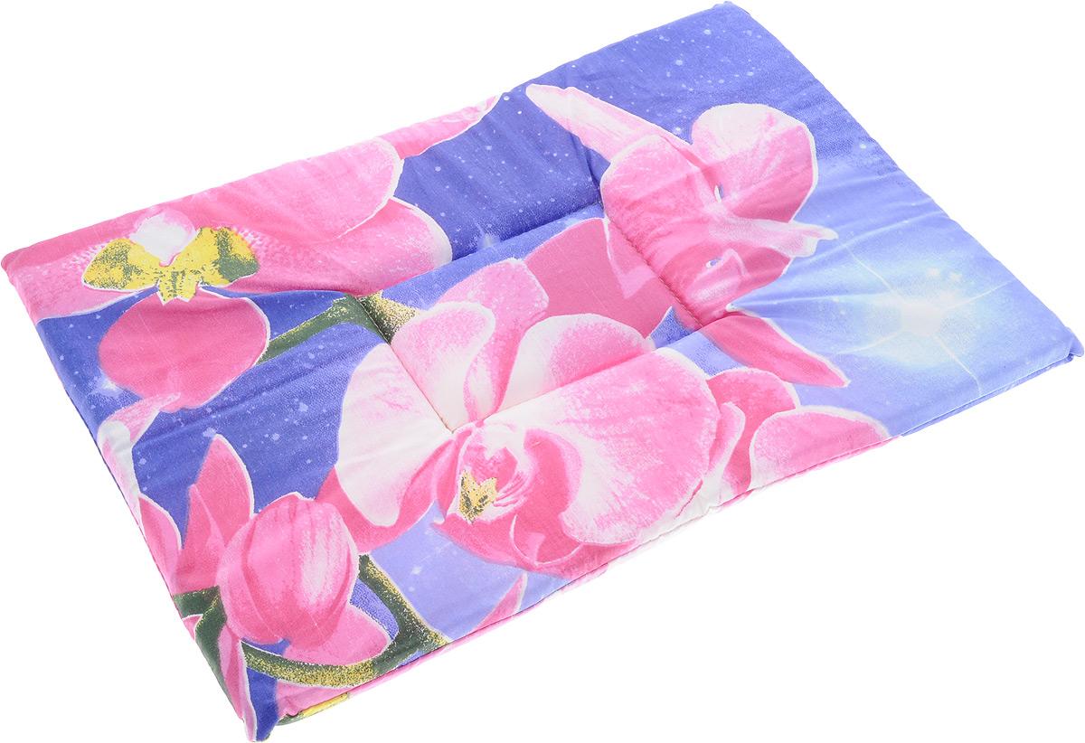 Лежак для животных Elite Valley Матрасик, цвет: фиолетовый, розовый, 35 х 50 см. Л-7/3101246Лежак для животных Elite Valley Матрасик изготовлен из высококачественной бязи, наполнитель - поролон. Идеален для переносок и использования в автомобиле. Он станет излюбленным местом вашего питомца, подарит ему спокойный и комфортный сон.Высота матраса: 2 см.