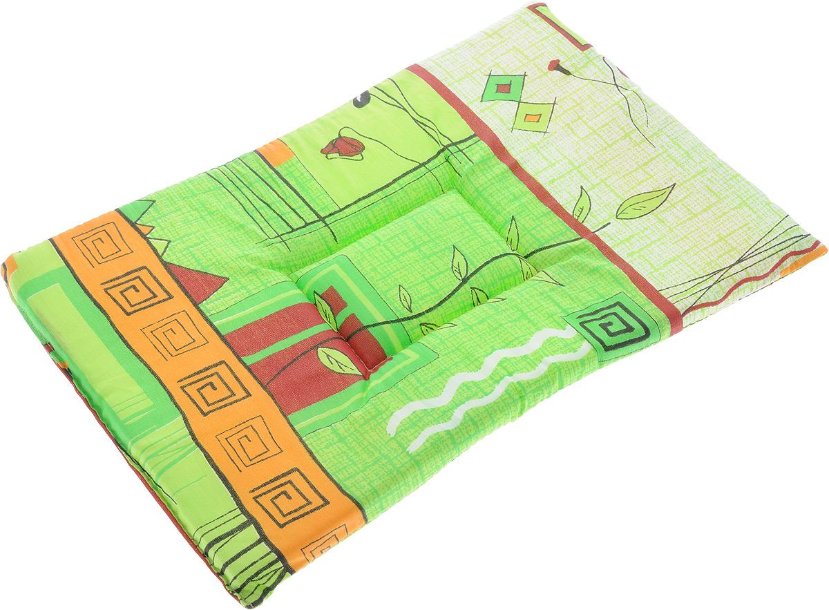 Лежак для животных Elite Valley Матрасик, цвет: салатовый, оранжевый, 30 х 45 см. Л-7/20120710Лежак для животных Elite Valley Матрасик изготовлен из высококачественной бязи, наполнитель - поролон. Идеален для переносок и использования в автомобиле. Он станет излюбленным местом вашего питомца, подарит ему спокойный и комфортный сон.Высота матраса: 2 см.
