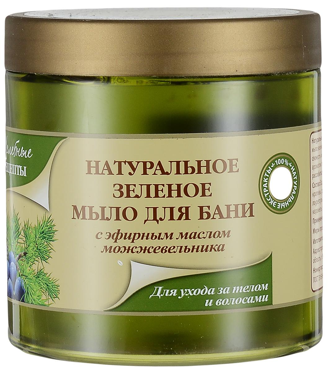 Целебные Рецепты Натуральное Зеленое мыло для бани для ухода за телом и волосами 500 мл.FS-00897Натуральное таежное зеленое мыло, разработанное на основе естественных сапонинов, содержащихся в мыльном корне, обогащено экстрактами хвоща, крапивы, багульника болотного. Благодаря высокому содержанию масел пихты, сосны, кедрового ореха при использовании мыла создается эффект ароматерапии, который усиливается при применении мыла в бане. Все экстракты и масла полезны как для тела, так и для волос, благодаря чему наше мыло можно использовать как гель для душа и как шампунь для волос.