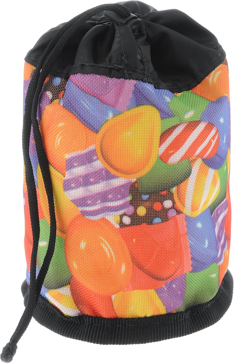 Сумочка для лакомств Elite Valley Стакан. Конфетки, 10 х 10 х 14 смС-50 сумочка для лакомств Стакан_конфеткиСумочка Elite Valley Стакан. Конфетки, выполненная из текстиля, предназначена для хранения лакомств для животных. Изделие закрывается на затягивающийся шнурок и оснащено одной петлей для удобной переноски на ремне.Сумочка Elite Valley станет отличным аксессуаром для дрессировки, так как достать из нее поощрение для питомца не составит труда.