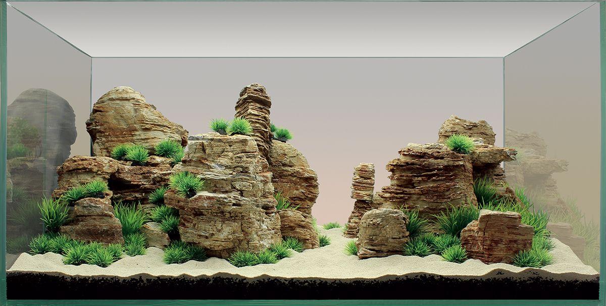 Набор декораций для аквариума ArtUniq Столпы творения, 90 x 45 x 45 см0120710Набор декорация для аквариума ArtUniq Столпы творения поможет вам создать из своего аквариума произведение искусства. Практичный элемент впишется в любой подводный пейзаж, превращая обычный аквариум в притягивающий внимание предмет интерьера. Каждый, кто увидит его, удивится резвящимся в нем рыбкам, которым больше никогда не будет скучно.Все компоненты этого украшения сделаны из химически нейтрального материала. Он не меняет состав и основные параметры воды, постоянно оставаясь безопасным для обитателей аквариума.Благодаря декорациям ArtUniq вы сможете смоделировать потрясающий пейзаж на дне вашего аквариума или террариума.Общий размер декорации (в собранном виде): 90 х 45 х 45 см.Высота растений: 3-5 см.