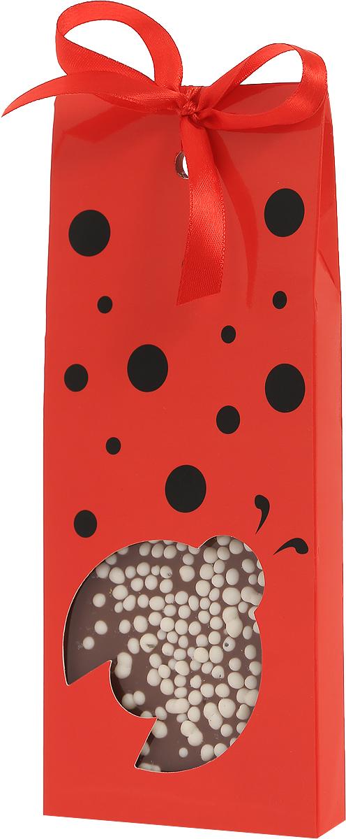 Sweeterella молочный шоколад с хрустящими шариками божья коровка, 110 г8252885Шоколад был и всегда останется приятным дополнением к подарку, а шоколад в красивой упаковке может стать и самим подарком! Плитка молочного шоколада с хрустящими шариками. Над рецептурой шоколада трудились лучшие шоколатье, которые знают толк в своем деле.Уважаемые клиенты! Обращаем ваше внимание, что полный перечень состава продукта представлен на дополнительном изображении.
