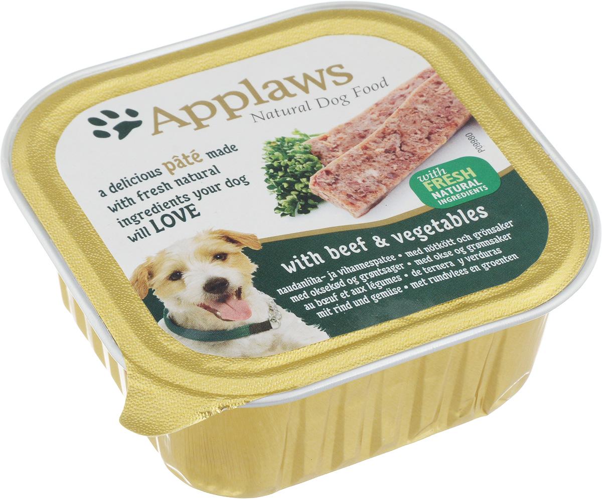 Консервы Applaws для взрослых собак, паштет с говядиной и овощами, 150 г0120710Нежный паштет Applaws – это полнорационная порция мясного мусса с добавлением всех необходимых для собаки витаминов и минералов. Упаковка в виде алюминиевого контейнера прекрасно сохраняет качество ингредиентов и его непревзойденный вкус. Состав: мясо курицы, свинина, говядина 4%, мясо индейки, рыба, морковь 4%, горох 4%, витамины и минералы.Пищевые добавки: витамин D3 140 МЕ/кг, йодат кальция, безводный 0,47 мг/кг, сульфат цинка, моногидрат 34 мг/кг, сульфат меди (II), пентагидрат 2,0 мг/кг, оксид марганца 1,6 мг/кг. Гарантированный анализ: белки 10%, жиры 5,5%, клетчатка 0,2%, зола 2,3%, влага 82%. Товар сертифицирован.