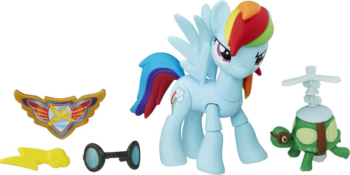 My Little Pony Игровой набор Хранители Гармонии Rainbow Dash хасбро hаsbro b3604 b8074 my little pony игровой мейнхеттен rainbow dash