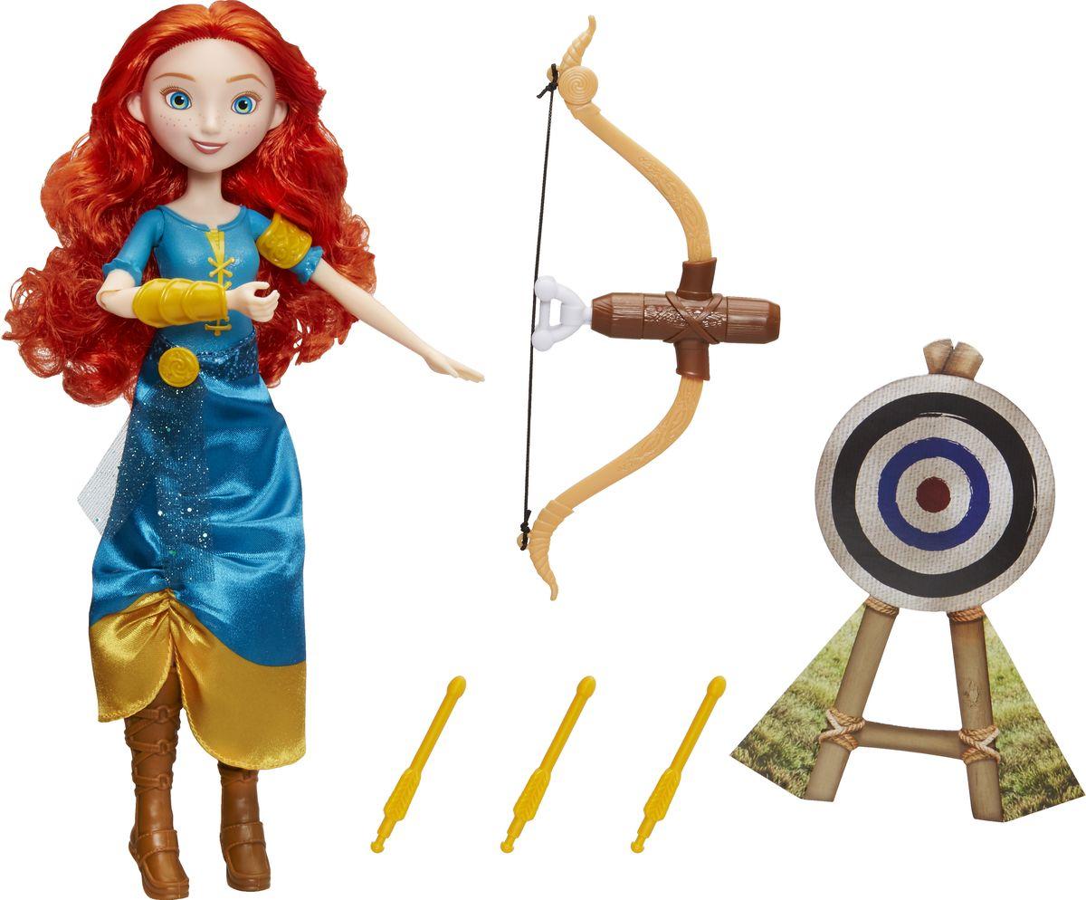 Disney Princess Игровой набор с куклой Принцесса и ее хобби Мерида