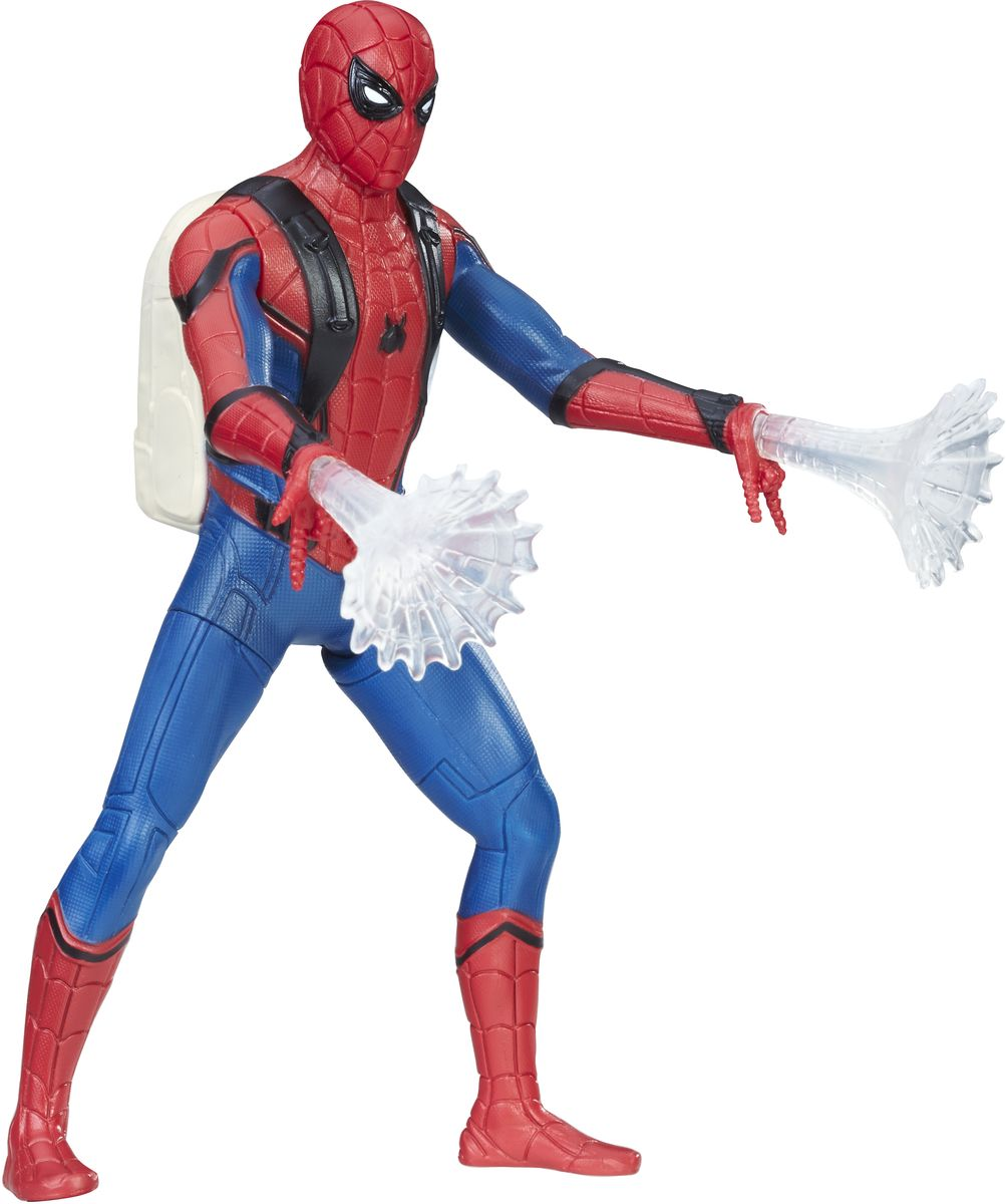 Spider-Man Фигурка Человек-паук B9765 spider man человек паук на боевой машине