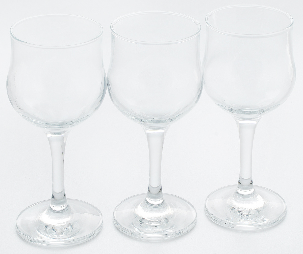Набор бокалов для белого вина Pasabahce Tulipe, 200 мл, 3 штVT-1520(SR)Набор Pasabahce Tulipe состоит из шести бокалов, выполненных из прочного натрий-кальций-силикатного стекла. Бокалы, предназначенные для подачи белого вина, сочетают в себе элегантный дизайн и функциональность. Набор бокалов Pasabahce Tulipe прекрасно оформит праздничный стол и создаст приятную атмосферу за романтическим ужином. Такой набор также станет хорошим подарком к любому случаю. Можно мыть в посудомоечной машине. Диаметр бокала по верхнему краю: 6,5 см. Высота бокала: 15,5 см.