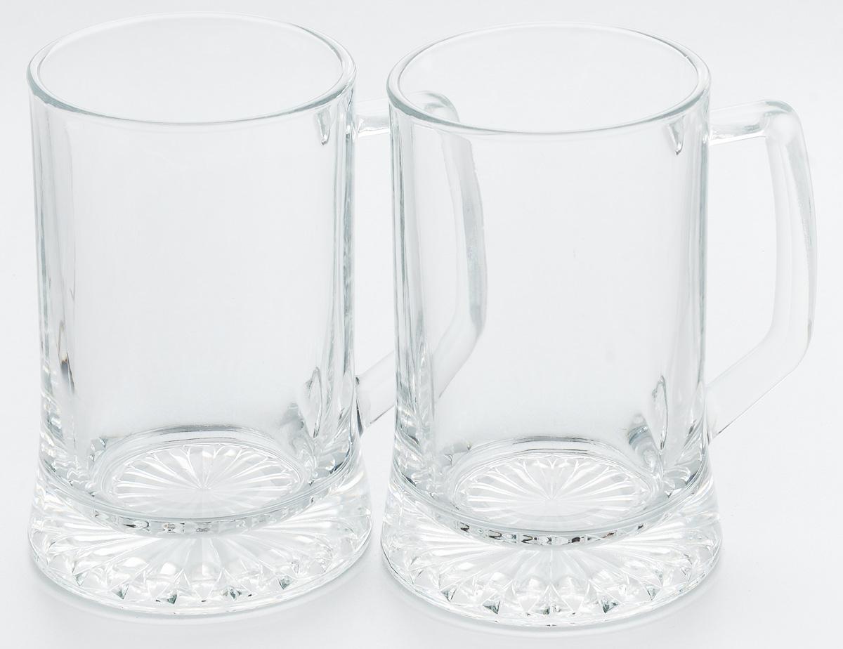 Набор кружек для пива Pasabahce Pub, 670 мл, 2 штVT-1520(SR)Набор Pasabahce Pub состоит из двух кружек, выполненных из прочного натрий-кальций-силикатного стекла. Кружки оснащены ручками и прекрасно подходят для подачи пива. Функциональность, практичность и стильный дизайн сделают набор прекрасным дополнением к вашей коллекции посуды. Можно мыть в посудомоечной машине и использовать в микроволновой печи до +70°С.
